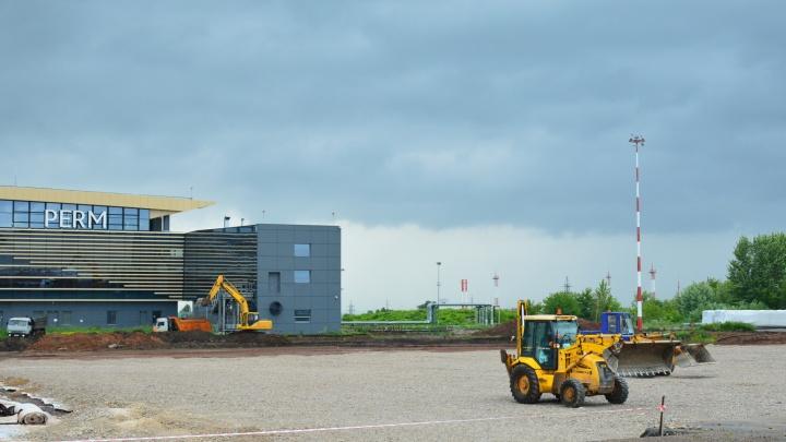 В сентябре работу пермского аэропорта будут прерывать из-за реконструкции аэродрома