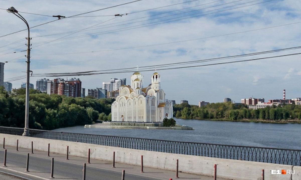 «На воде» за Макаровским мостом