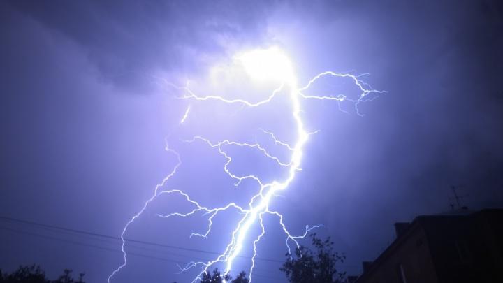 Крупный град и грозы: в МЧС предупредили о надвигающемся на Челябинск шторме