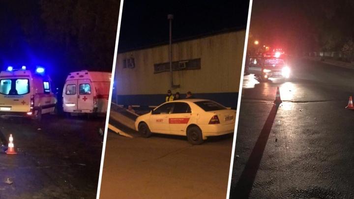 В Новосибирске поймали водителя, который уехал после смертельного ДТП на Кедровой