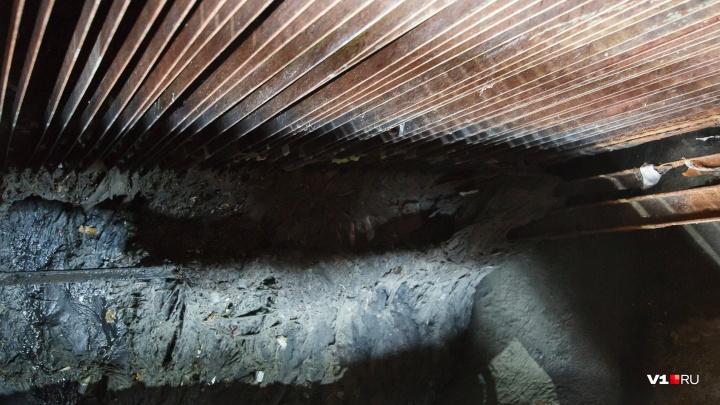 «Глухая стена»: волгоградцы из дома с забитой канализацией три дня воевали с коммунальщиками