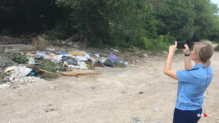 Душевые, яблони и икра: прокуратура подала в суд на чиновников из-за мусора в Самаре