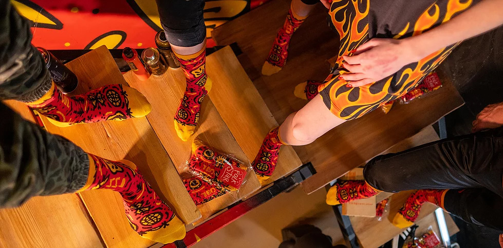 Новосибирская компанияStereo socks выпустила лимитированную партию носков в поддержку вымирающих снежных барсов