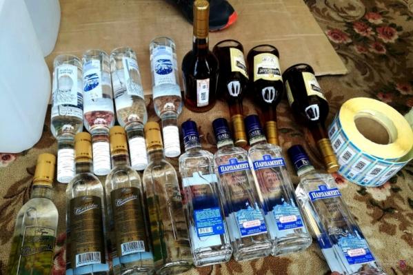 Спирт под видом водки продавали в Чалтыре