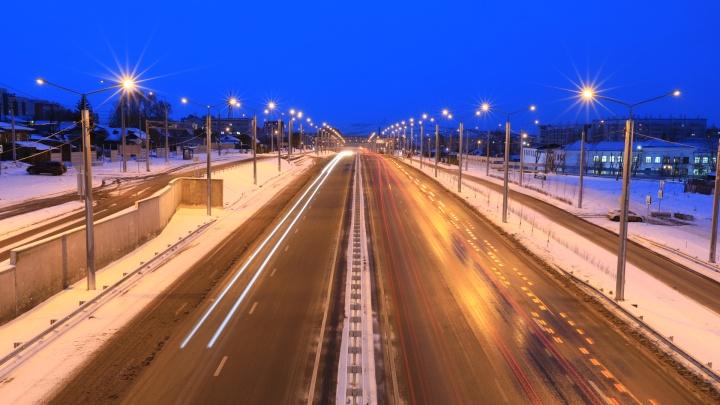 Воздух в Красноярске стал кристально чистым с приходом ветра