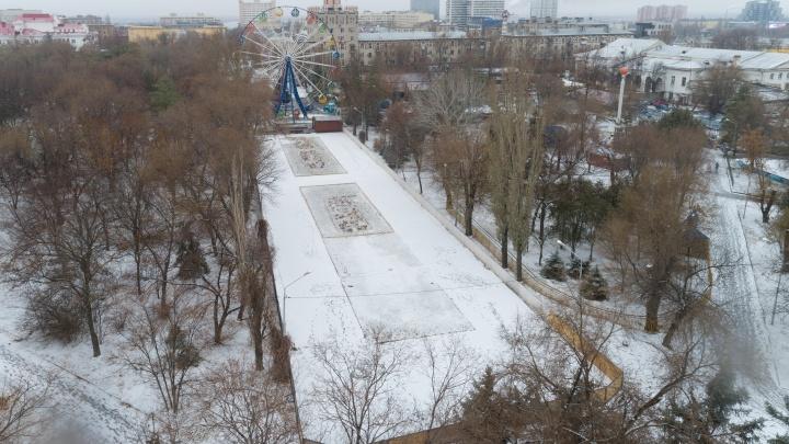 «Уходим на разгрузочные дни»: после резкого потепления в Волгограде поплыли городские катки
