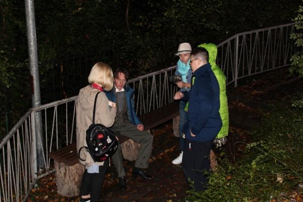 Съёмки проходили в октябре прошлого года в Ялте