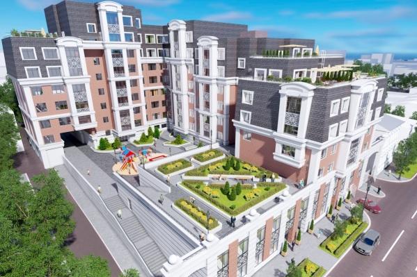 ЖК «Преображенский двор» строят на месте старой больницы