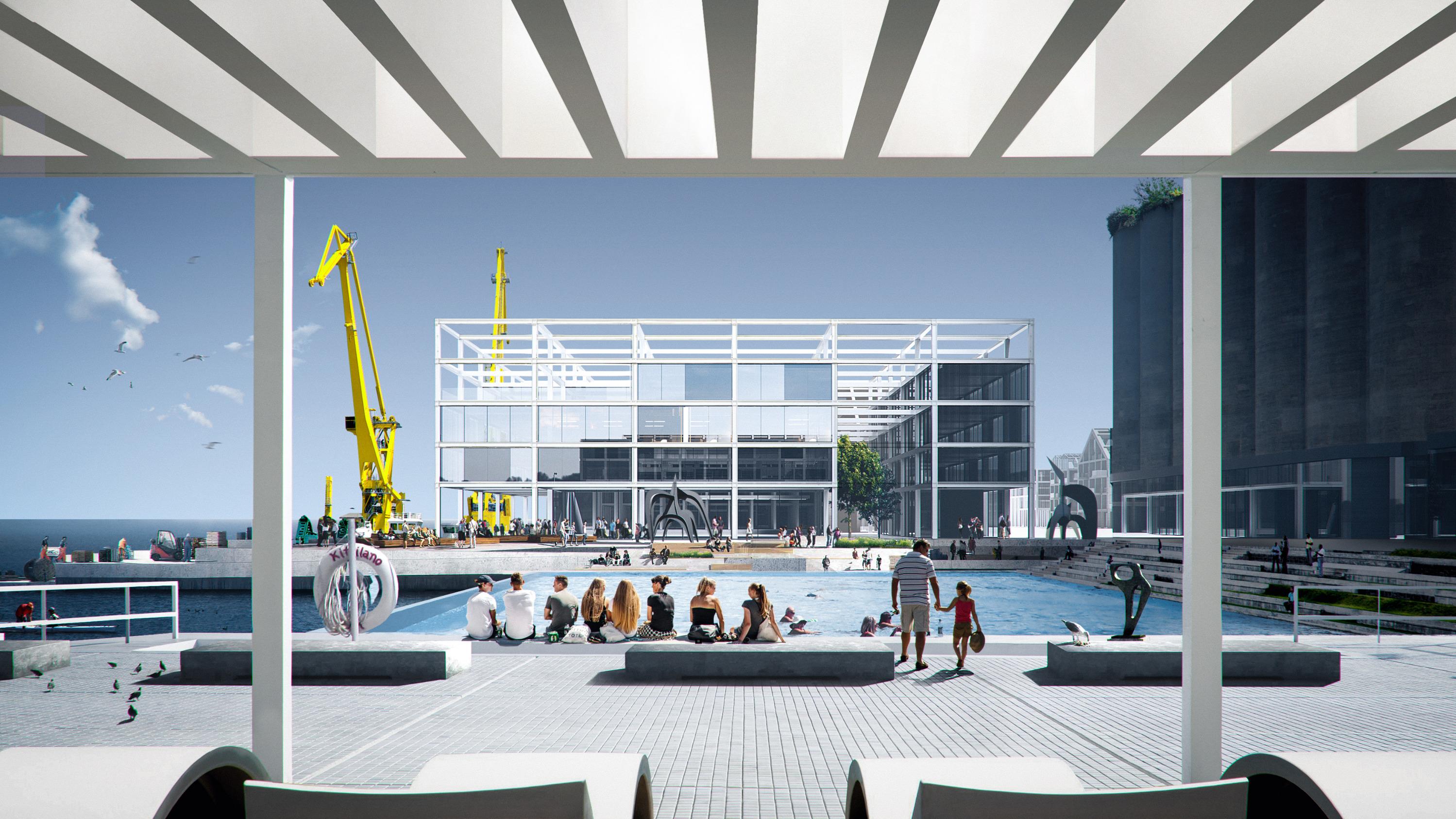Архитекторы, помимо всего остального, предложили благоустроить набережную...