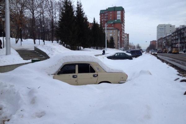 На республику обрушится снег и метель