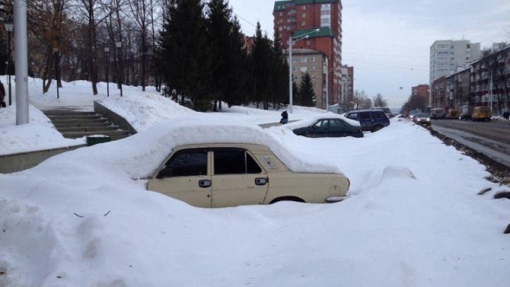Погода в Башкирии: понедельник будет снежным и морозным