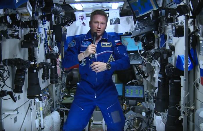 Сергей Прокопьев отправился на МКС в июне