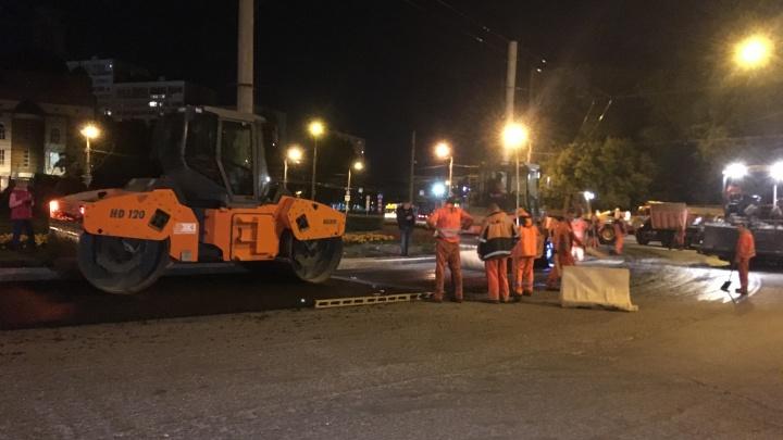 Работают ночами: что нового появится на Стара-Загоре после ремонта