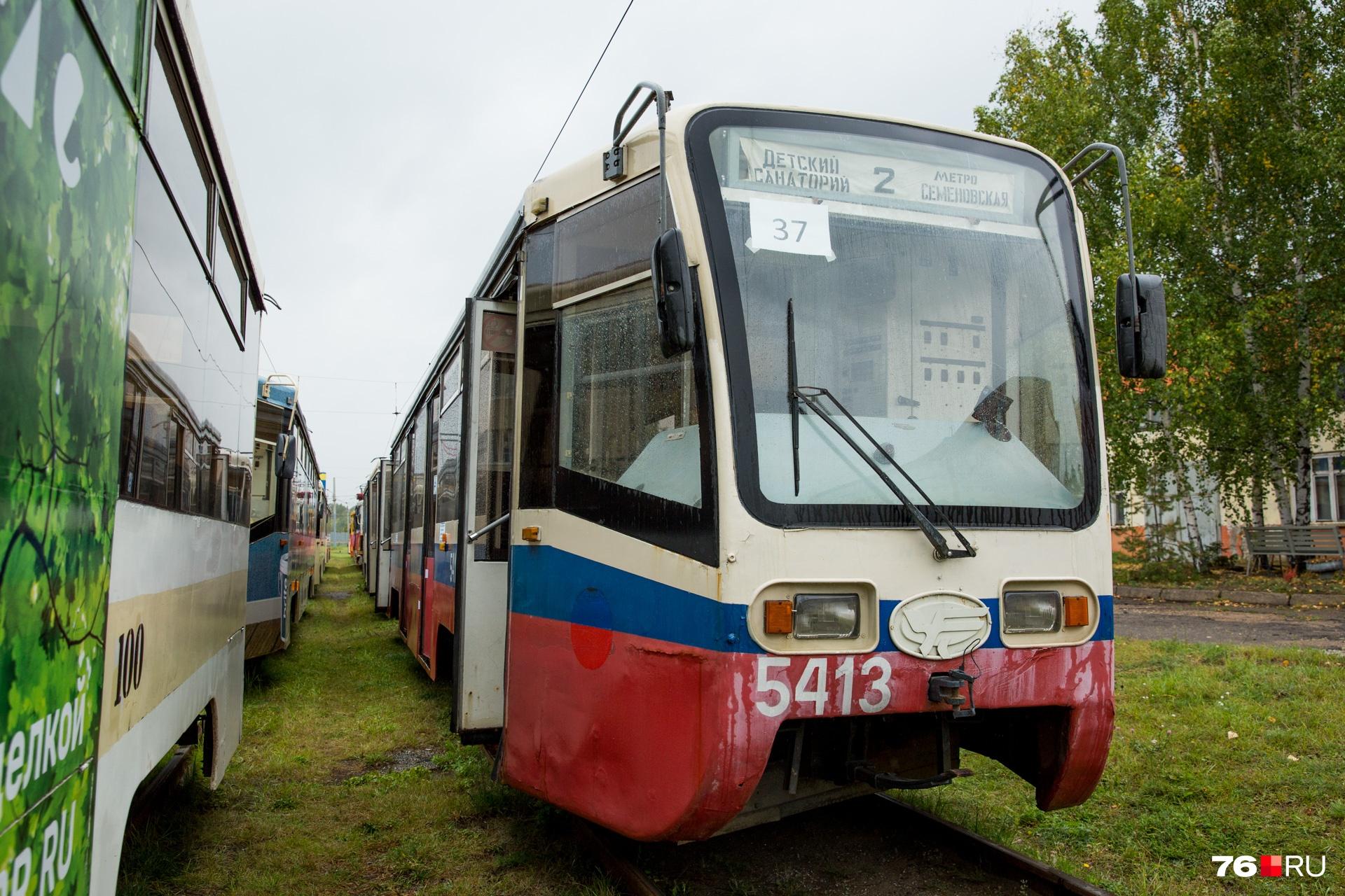 Трамваи, которые нам подарили, в Москве ходили по разным маршрутам