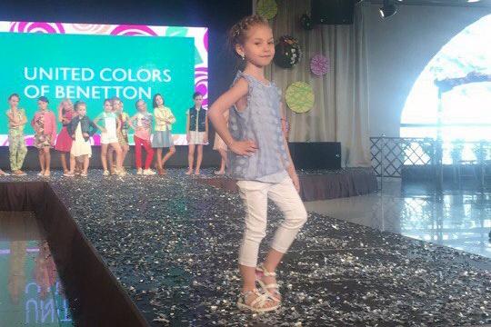 На новосибирский конкурс отобрали красавиц моложе 12 лет (видео)