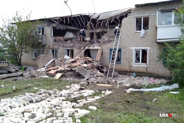 На месте разрушенного дома могут построить новый