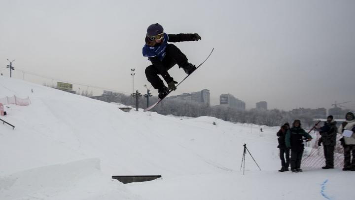 Новосибирский сноуборд-парк назвали одним из лучших в России