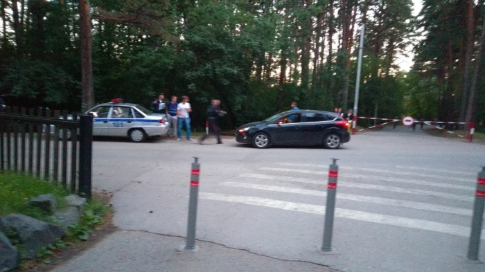 Водитель утверждает, что роллер выехал на дорогу внезапно и на большой скорости