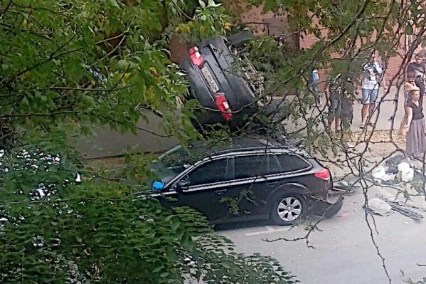 Серьезная авария произошла на Буденновском