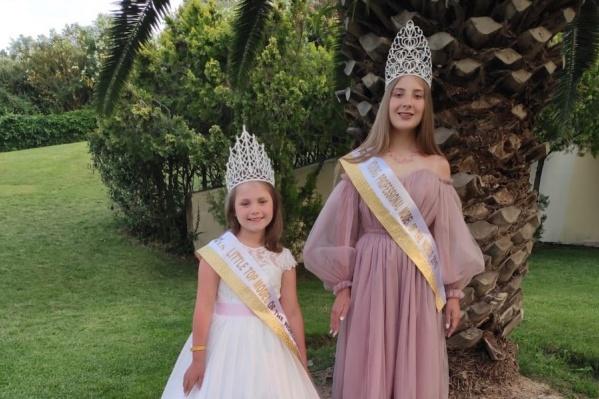 Анастасия Третьякова и Виктория Быстрова — победительницы международных конкурсов красоты