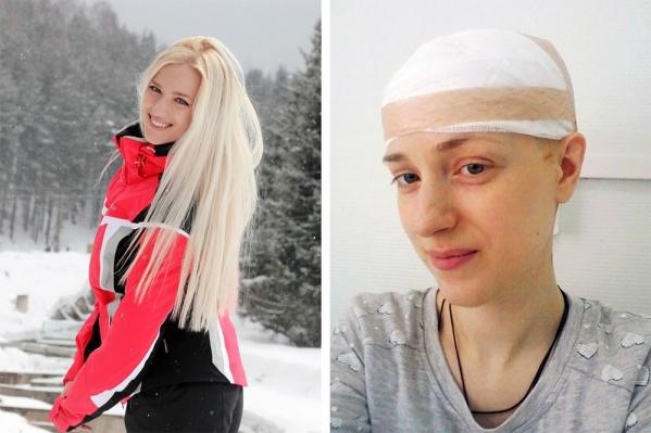 Кристина Приходько перенесла две операции на головном мозге, но теперь её здоровье в порядке