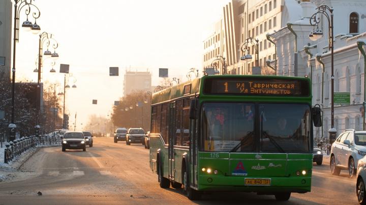В Тюмени автобусы №1 и 54 продлили до аэропорта