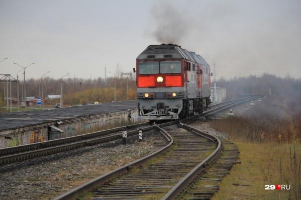 ЧП произошло на железнодорожных путях в районе Смольного Буяна