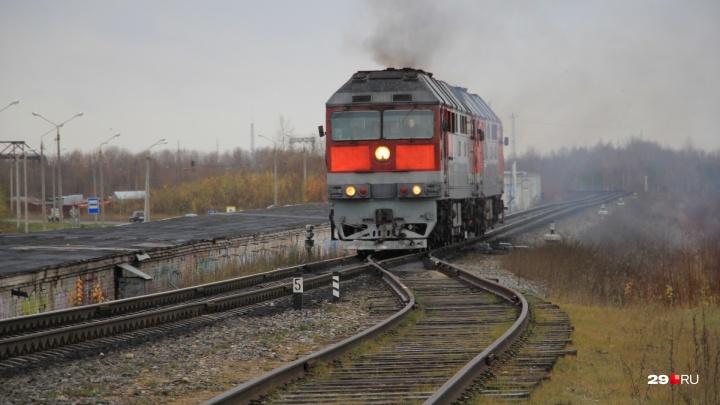 «Видела, как она отлетела»: на железнодорожных путях в Архангельске женщину сбил поезд