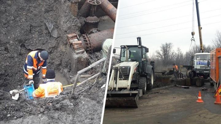В Ростове из-за коммунальной аварии без воды остались 600 человек