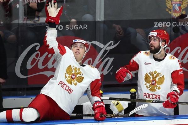 В свои ворота россияне не позволили забросить ни одной шайбы