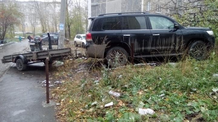 «Я паркуюсь как»: верные способы показать свое презрение к пешеходам