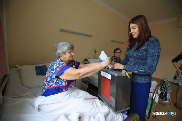 Прошлой осенью вариант «против всех кандидатов»стал самым популярным в одном из районов Красноярска