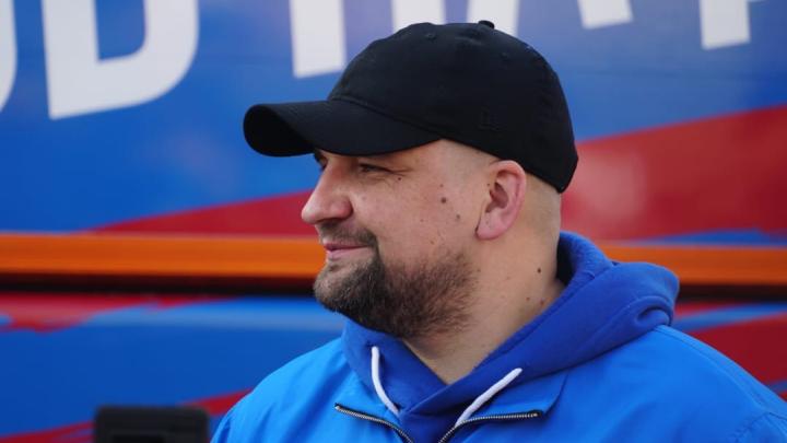 «Новый стадион построим через пять лет»: Баста — о развитии ФК СКА