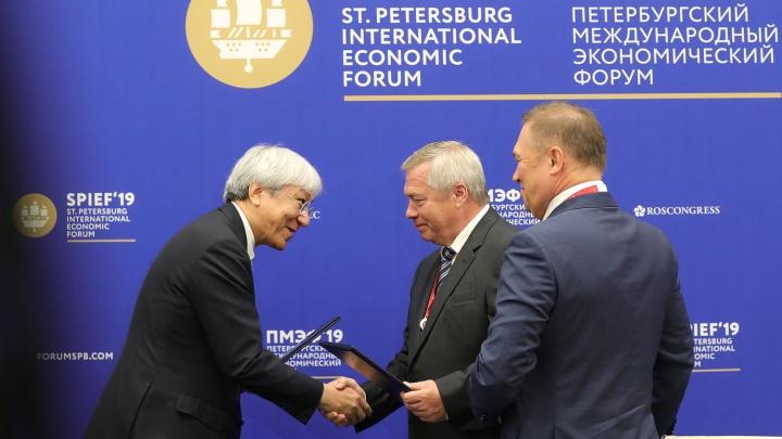 Абсолютный рекорд: Ростовская область привезла с ПМЭФ-2019 соглашений на 187,5 миллиарда рублей