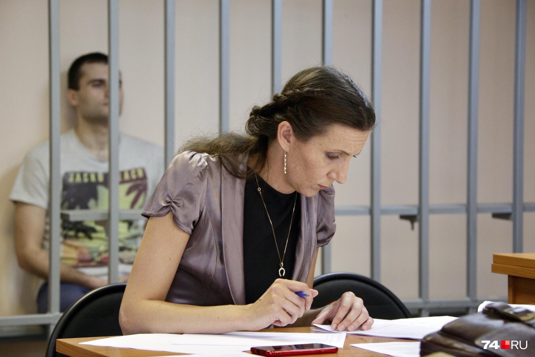 Антон Коновалов всё заседание был спокоен и внимательно слушал, что говорят потерпевшие и свидетели