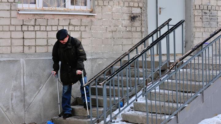Записки человека на костылях: депутат — о том, как выжить в Екатеринбурге, если у тебя сломана нога