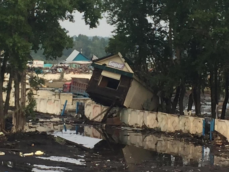 В зоне подтопления оказались около 10 тысяч домов