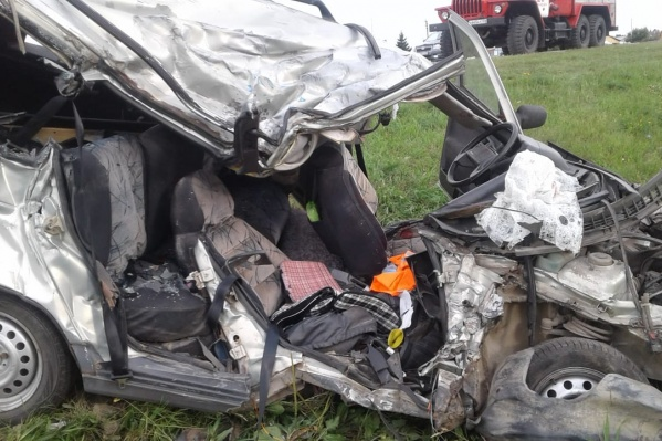 Авария случиласьна 80-м километре трассы Р-256