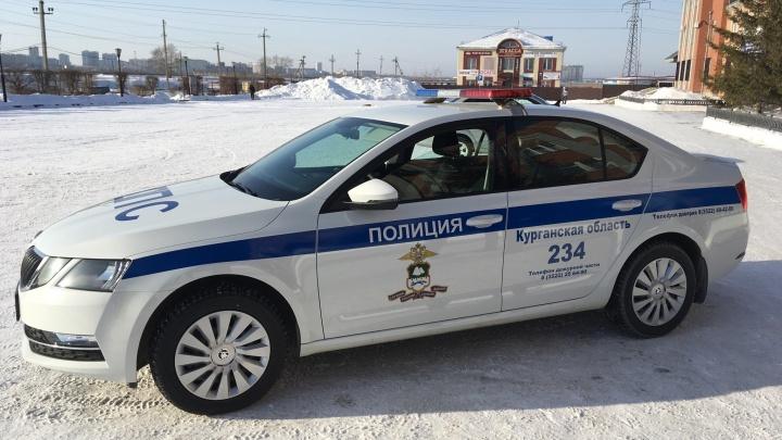 В Зауралье в районах с наибольшей аварийностью работают новые автомобили ГИБДД