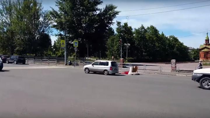В Челябинске ограничат движение на перекрёстке, раскритикованном Варламовым