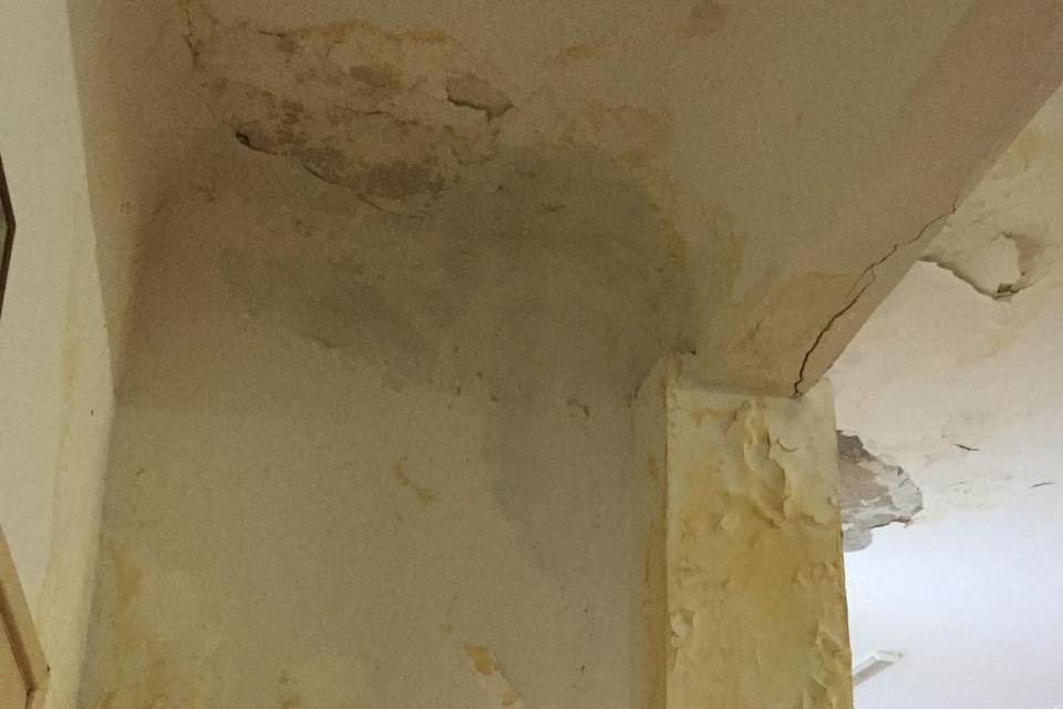 Ремонт в здании не делали с 1998 года