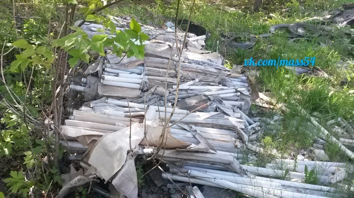 Более 150 ртутных ламп было найдено на ул. Петухова