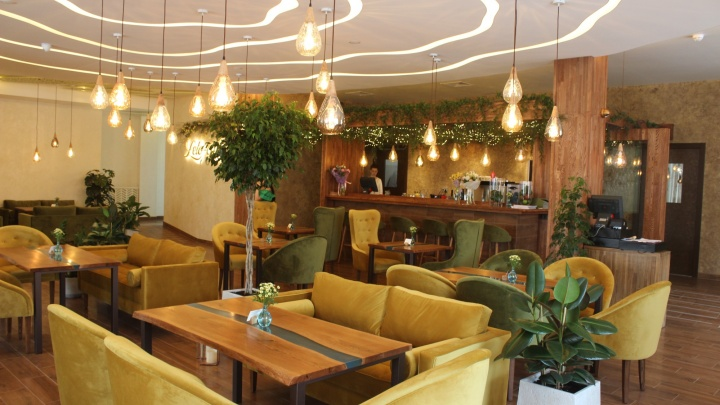 На месте элитного клуба открылось кафе здорового питания с детокс-коктейлями