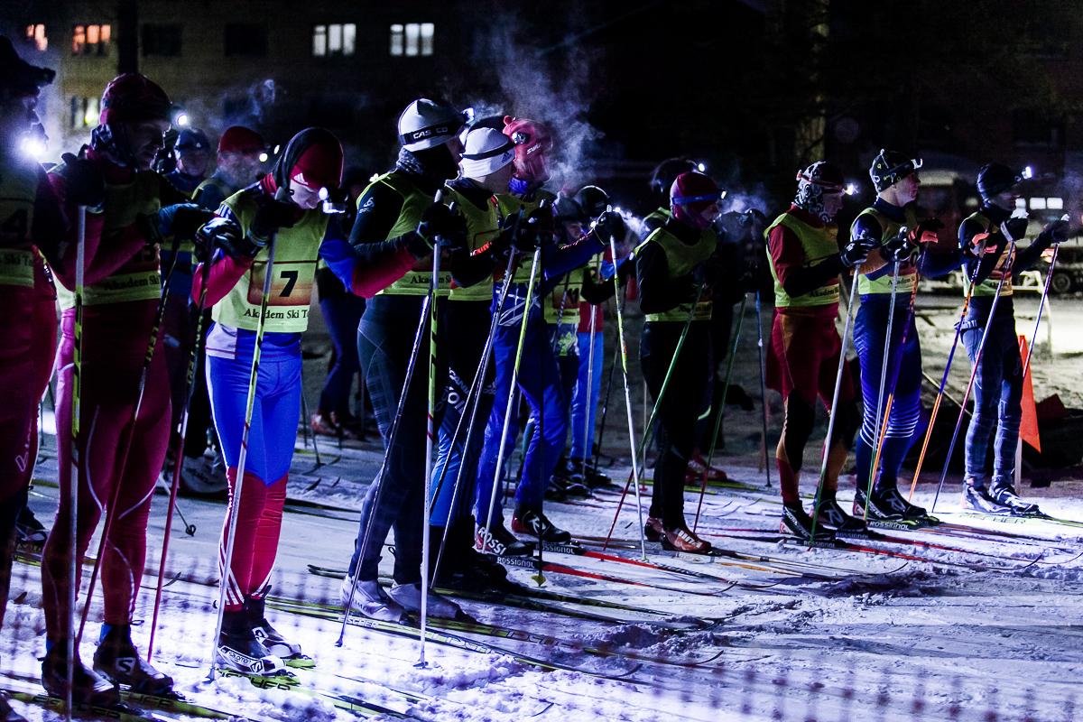 Гонка проводилась в формате«ночной гонки с фонарями»