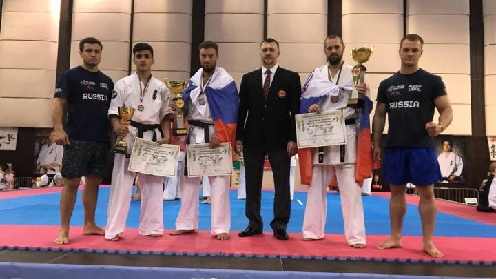 Трое екатеринбуржцев завоевали бронзу на Чемпионате Европы по карате