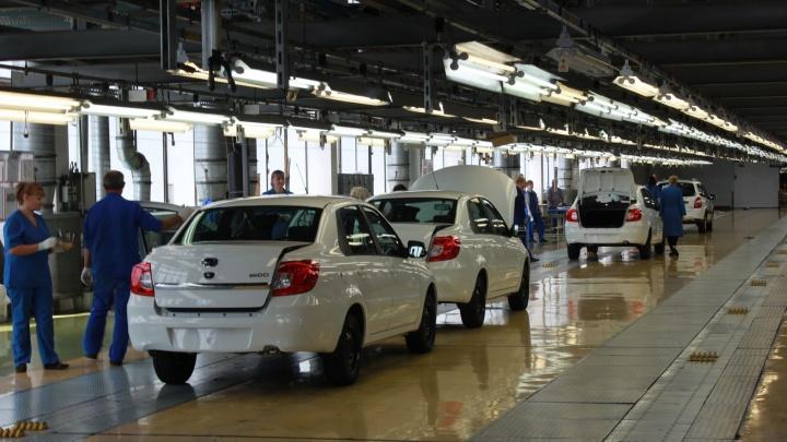АВТОВАЗ приостановит производство машин на летнее время