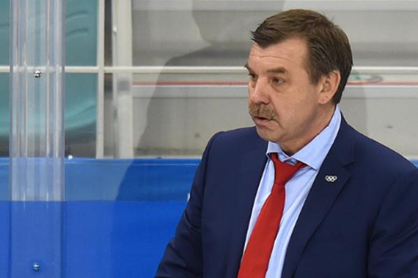 Олег Знарок — один из самых титулованных тренеров в КХЛ, он трижды выигрывал Кубок Гагарина
