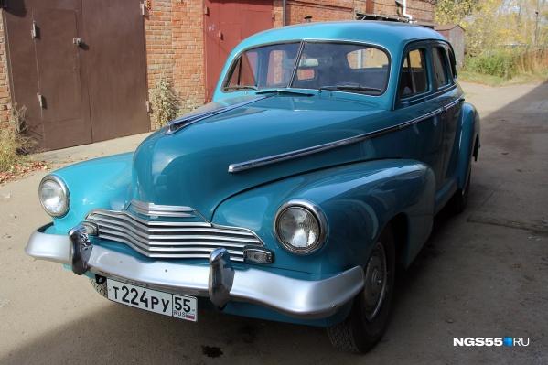 Автомобиль приехал в Омск из Новосибирска, от местного коллекционера