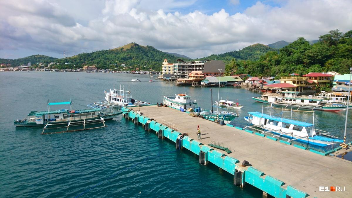 Небольшие причалы есть у каждого крупного филиппинского острова