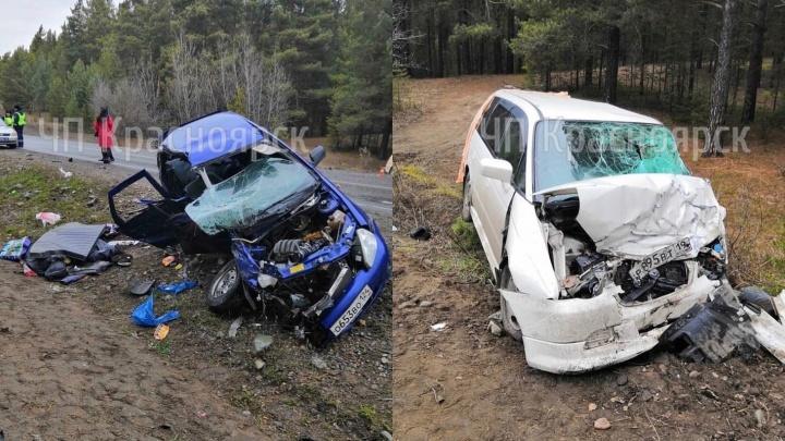 Пожилой водитель под Минусинском погубил троих людей, четверо в больнице